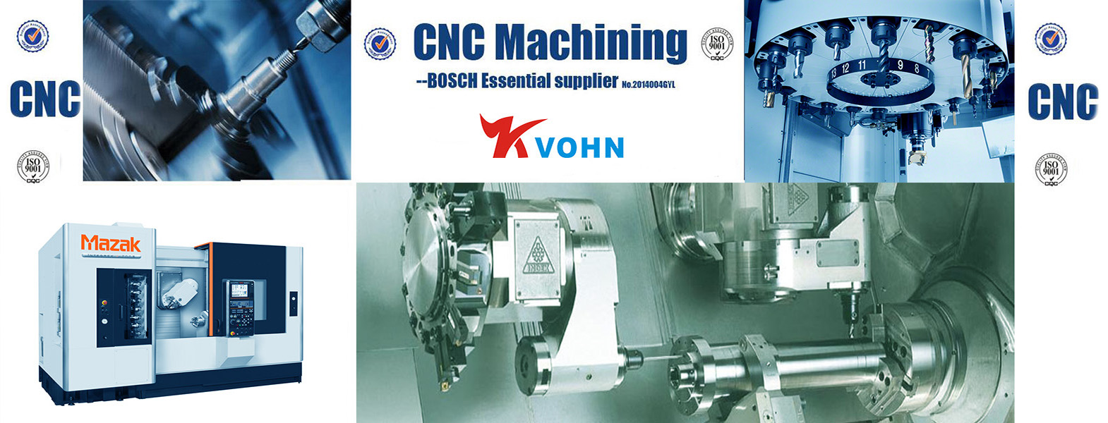 CNC Machining Experts serving Global Industries