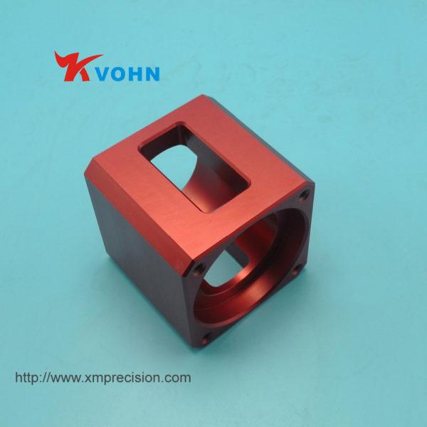 Aluminium machining part